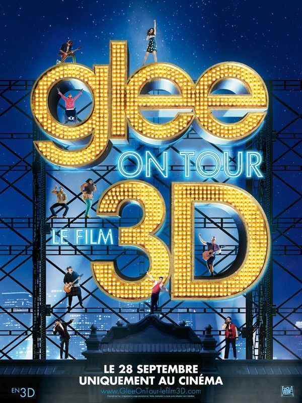 Telecharger Glee 3D on Tours