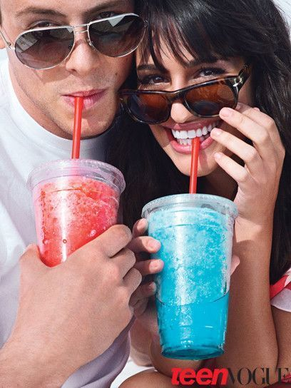 Cory Montheith et Lea Michele